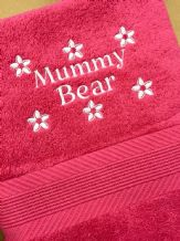 Personalised Towels, Hand or Bath sizes